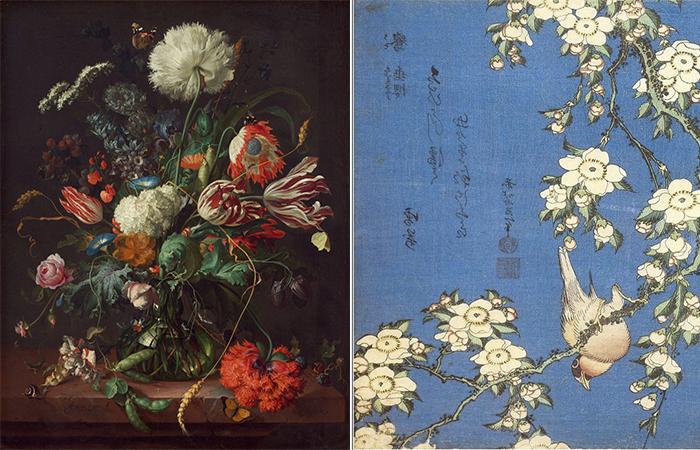 цветы стали ключевой фигурой в живописи