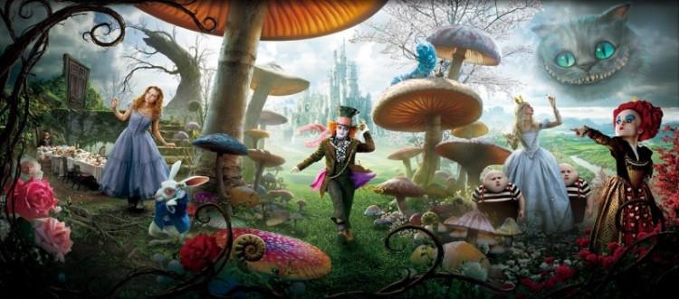 Фильм Бёртона стал уже третьей экранизацией «Алисы» от студии Disney